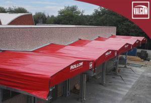 Tettoie in PVC Valcom per multinazionale Rollon