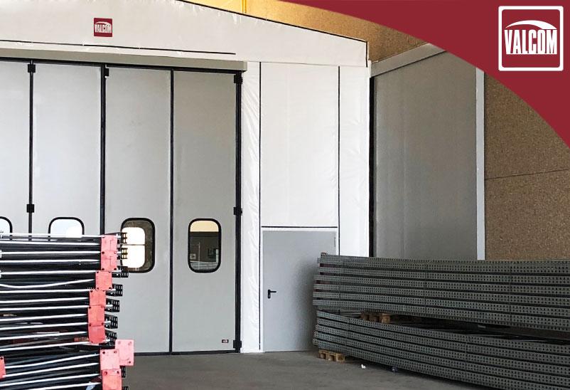 Le coperture in PVC Valcom scelte da XPO Logistics per aumentare gli spazi del polo produttivo di Stradella