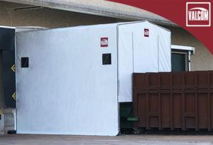 Capannone in PVC per XPO Logistics