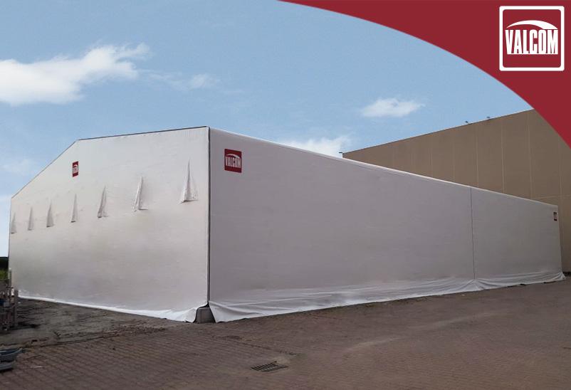 Un capannone indipendente Valcom nel polo produttivo di Granarolo