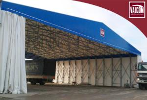 Valcom per Padus: capannone per deposito mezzi