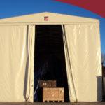 Capannoni mobili in PVC costruiti con materie prime di qualità e avanzate tecnologie
