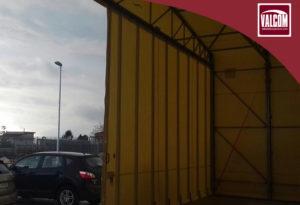 capannone in pvc per Budetta Farma
