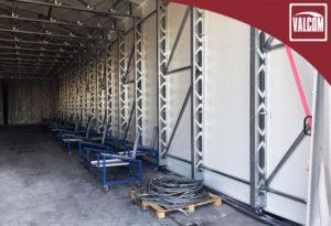 Capannone in PVC per magazzino a Padova