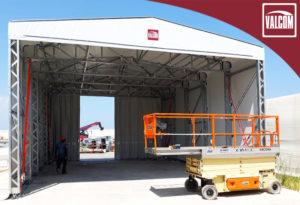 Capannone indipendente Valcom presso Fincantieri Ancona