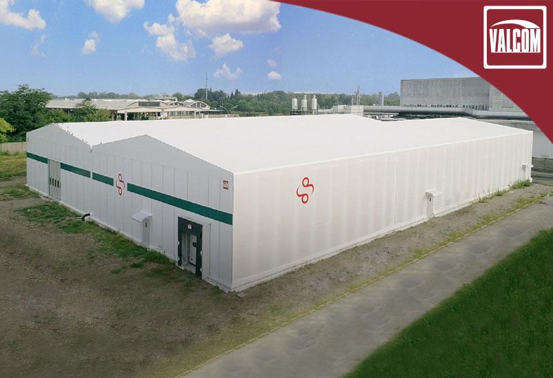 Per Sacchital Group a Milano, 6.000 mq di coperture in PVC avveniristiche